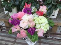 お誕生日のお花 - Ikuko's decoroom