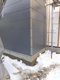 外壁工事 - 体温を感じる家づくり