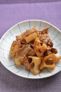 豚肉とレンコンの甘辛炒め - 瞬速おつまみ!