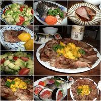 牛タン・カツオ - 『車いすで楽しめる食事処』・レシピ&ガーデニング