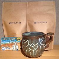 焙煎したてのcoffeeをどうぞ! 2月 - MOTTAINAIクラフトあまた 京都たより
