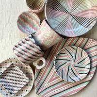 2018年の展示会スタートしました! - irodori窯~pattern pottery~