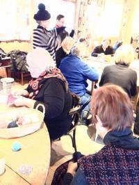 1/23ちくちくレッスンの様子 - にいがた銀花+チクチクちく針仕事の会 niigata ginka+Association of chiku-chiku needle work