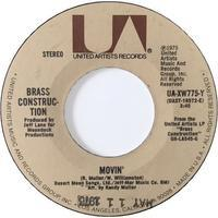 Brass Construction ‎– Movin' / Talkin' - まわるよレコード ACE WAX COLLECTORS