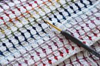 毛糸の始末1 Baby blanket ~little jewels ~ - YUKKESCRAP