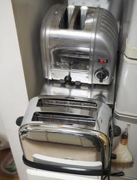 新しくやってきたトースター - お茶の水調理研究所
