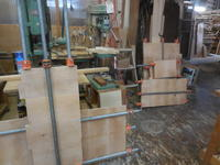 ネストタイプのデスク - 手作り家具工房の記録