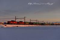 雪景色とDD51 - HIROのフォトアルバム