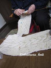 97歳のおばあちゃんの編物 - akieの編物教室奮戦記