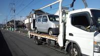 日高市から故障車をレッカー車で廃車の出張引き取りしました。 - 廃車戦隊引き取りレンジャー