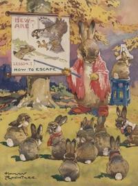 Harry Rountreeのウサギ絵 - Books