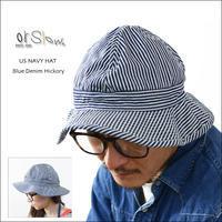 orslow[オアスロウ] US NAVY HAT Blue Denim Hickory [03--001-184] ユーエスアーミーハット MEN'S/LADY'S - refalt   ...   kamp temps