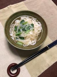 にゅうめん - 庶民のショボい食卓