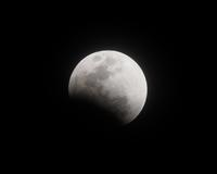 皆既月食 - 安倍奥の星空