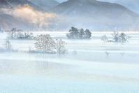 モノクロ風景 裏磐梯 2 - 光 塗人 の デジタル フォト グラフィック アート (DIGITAL PHOTOGRAPHIC ARTWORKS)