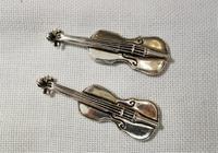 シルバープレートのヴァイオリン - スペイン・バルセロナ・アンティーク gyu's shop