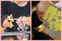 可愛い花束ができました - 大阪府池田市 幼児造形教室「はるいろクレヨンのブログ」