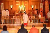 2018,1,15 広島護国神社とんど焼きその3 - 死すべきキモオタ~或いは怠惰な脂肪の塊~