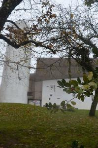 ロンシャン礼拝堂③象さんの鼻の穴 - アルルの図書館* 旅する古道具屋