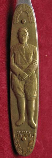 アドルフ・ヒトラーのペーパーナイフ(レプリカ) - 軍装品・アンティーク・雑貨 展示館