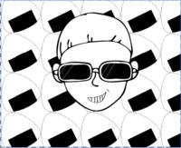 イラストレーターを使って、originalキャラクターを描いています。 - 親子お揃いコーデ服omusubi-five(オムスビファイブ)