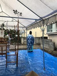 地鎮祭を行いました。 - 旅とデザイン 京都から世界へ・・・