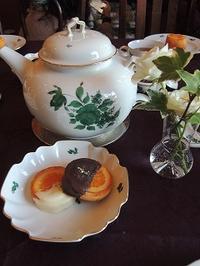 空間を堪能しました - BEETON's Teapotのお茶会