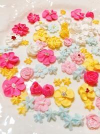 パイピングフラワー - 調布の小さな手作りお菓子教室 アトリエタルトタタン