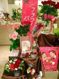 フラワーバレンタイン - ~ Flower Shop D.STYLE ~ (新所沢パルコ・Let's館1F)