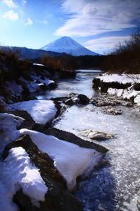 30年1月の富士(29)西湖の富士 - 富士への散歩道 ~撮影記~