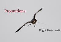 フライトフェスタ2018 注意事項 [Precautions] Flight Festa 2018 - 新米ファルコナー(鷹匠)の随想録