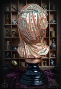 Anesthesia Bust bronze version By Doktor A - 下呂温泉 留之助商店 入荷新着情報