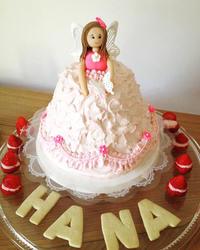 3歳の娘のお誕生日ドールケーキ - 黒豆日記