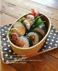 2.3節分の日の海苔巻き弁当 - YUKA'sレシピ♪