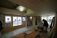 木工事終盤堀之内の家 - 加藤淳一級建築士事務所の日記