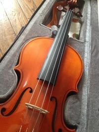 工房から帰ってきた - 大人ですがバイオリン始めました