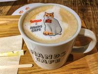 久し振りに渋谷の東急ハンズへ、7階のハンズカフェのカフェオレが可愛かった! - 写真家 永嶋勝美の「散歩の途中で . . . !」