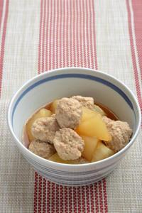 大根と肉団子の煮物と休肝日 - 瞬速おつまみ!