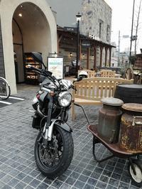 Grisoでモーニング(ドトール珈琲農園) - なんでバイクに乗るのでしょう?