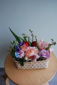 1がつのフラワーレッスンのご報告 - 花と暮らす店 木花 Mocca