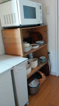 食器棚が欲しいけれど - 賃貸で暮らす
