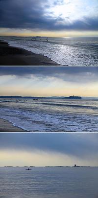 2018/02/04(SUN) Beach on gentle Sunday. - SURF RESEARCH