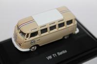 1/87 Schuco VolksWagen T1 Samba Bus RACING MODEL - 1/87 SCHUCO & 1/64 KYOSHO ミニカーコレクション byまさーる