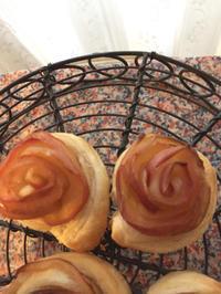 りんご薔薇パイ♡ - 紅茶のあるくらし