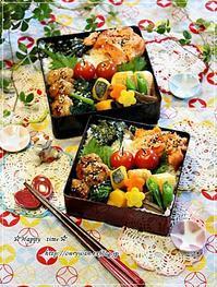 月曜鮭弁当と今夜のおうちごはん♪ - ☆Happy time☆