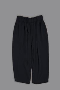 NO CONTROL AIR A/P Light Crepe Weave Double Cloth Wide Pants - un.regard.moderne