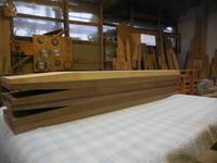 テーブルの脚 - 手作り家具工房の記録