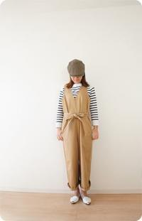 ベージュのサロペット♡クリーマにて販売を開始しました。 - 親子お揃いコーデ服omusubi-five(オムスビファイブ)
