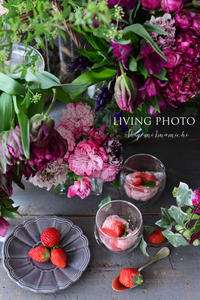 Strawberry Mousse - LIVING PHOTO