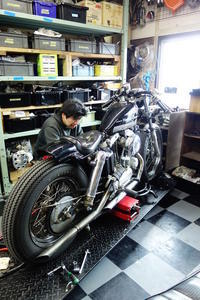 日・月曜日の授業風景 - Vintage motorcycle study